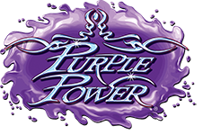 Purple Power Glass Cleaner Logo